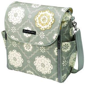 Petunia Pickle Bottom Tea on the Thames diaper bag